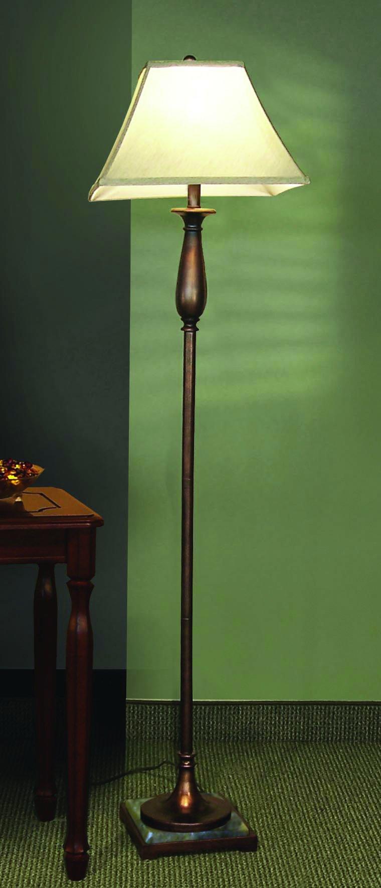 Coaster Transitional Bronze Floor Lamp