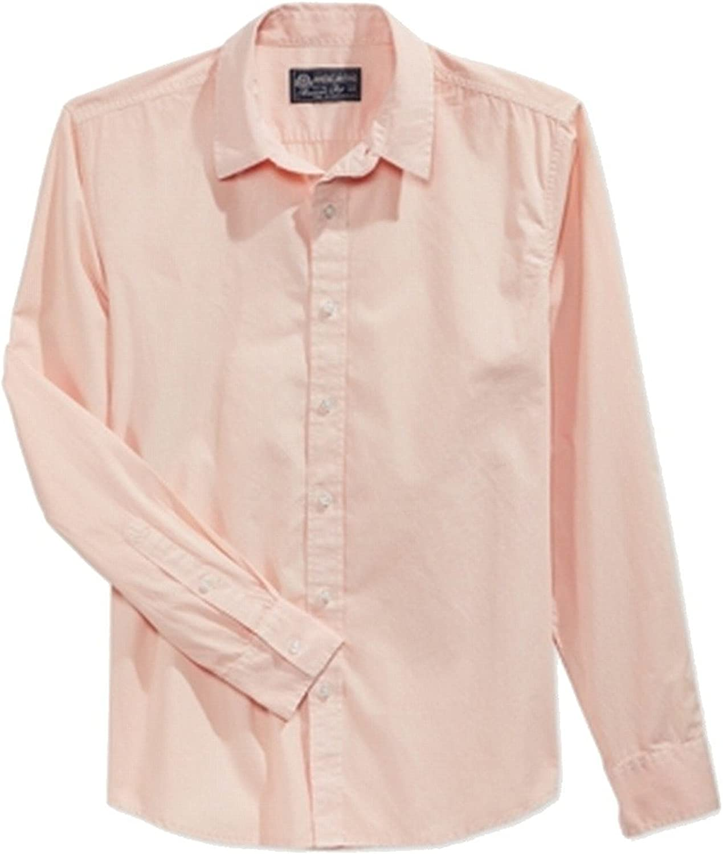 American Rag Mens Small Two-Pocket Button Down Shirt