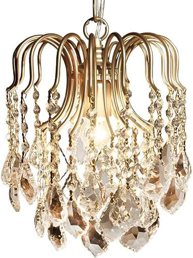 Modern Mini Chandelier Crystal Ceiling Light Fixture Flush Mount Lighting