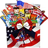 Art of Appreciation Gift Baskets All American Snacker Candy and Junk Food Gift Box