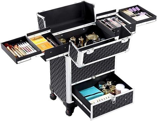 Dpliu Caja de cosméticos Caso cosmético/Compra/Equipaje/Caja de ...