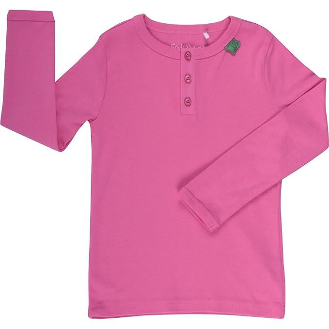 Freds World by Green Cotton Alfa Granny Noos Baby - Camiseta para Niñas, Rosa (