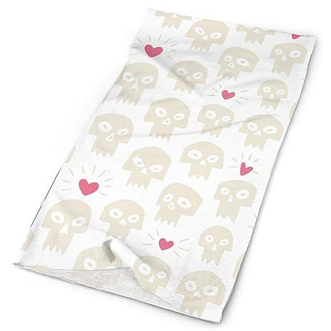 headscarves sky Skull Love Athletic Bandana Cintas para la Cabeza ...
