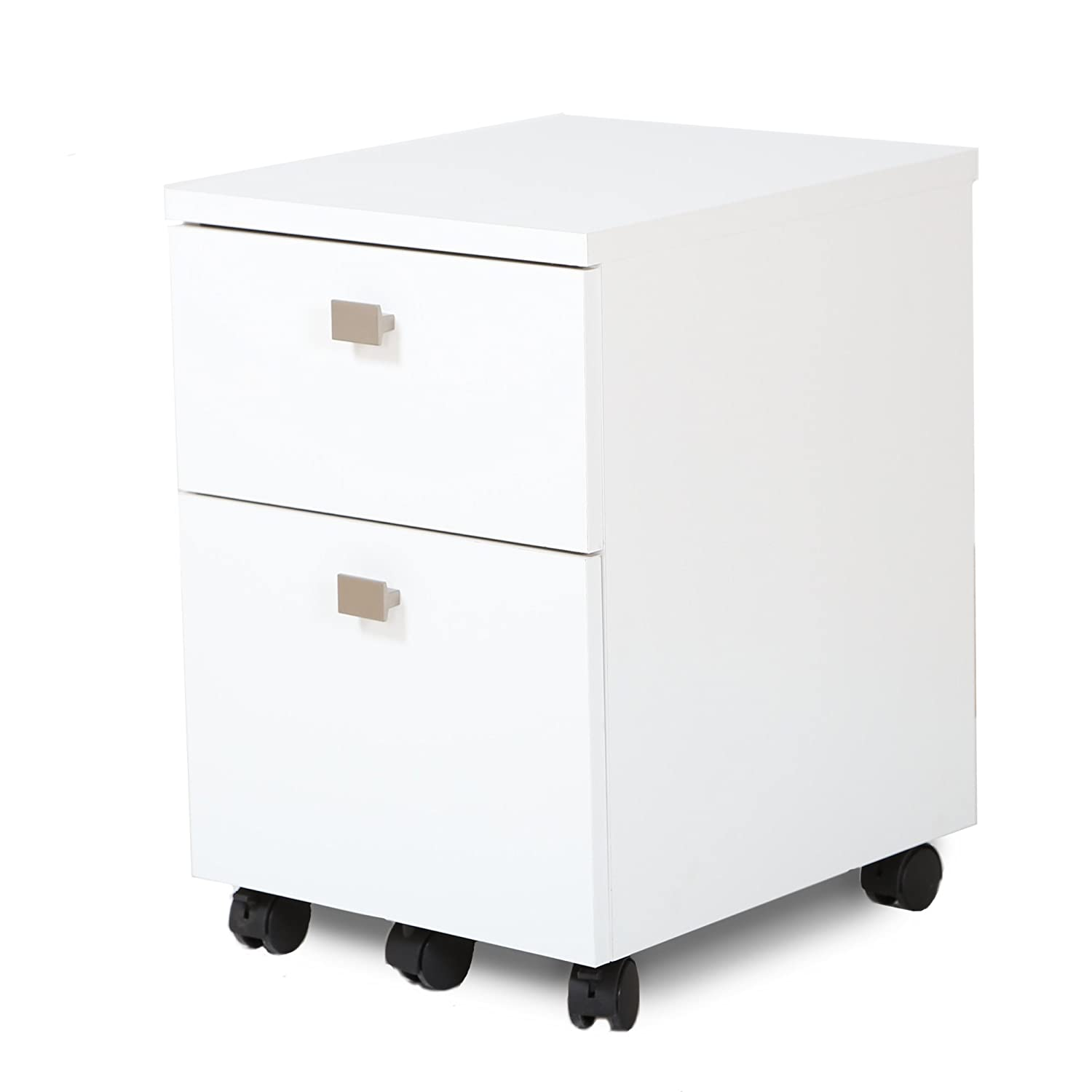 small office cabinets. Amazoncom South Shore Interface 2Drawer Mobile File Cabinet Pure White Kitchen U0026 Dining Small Office Cabinets
