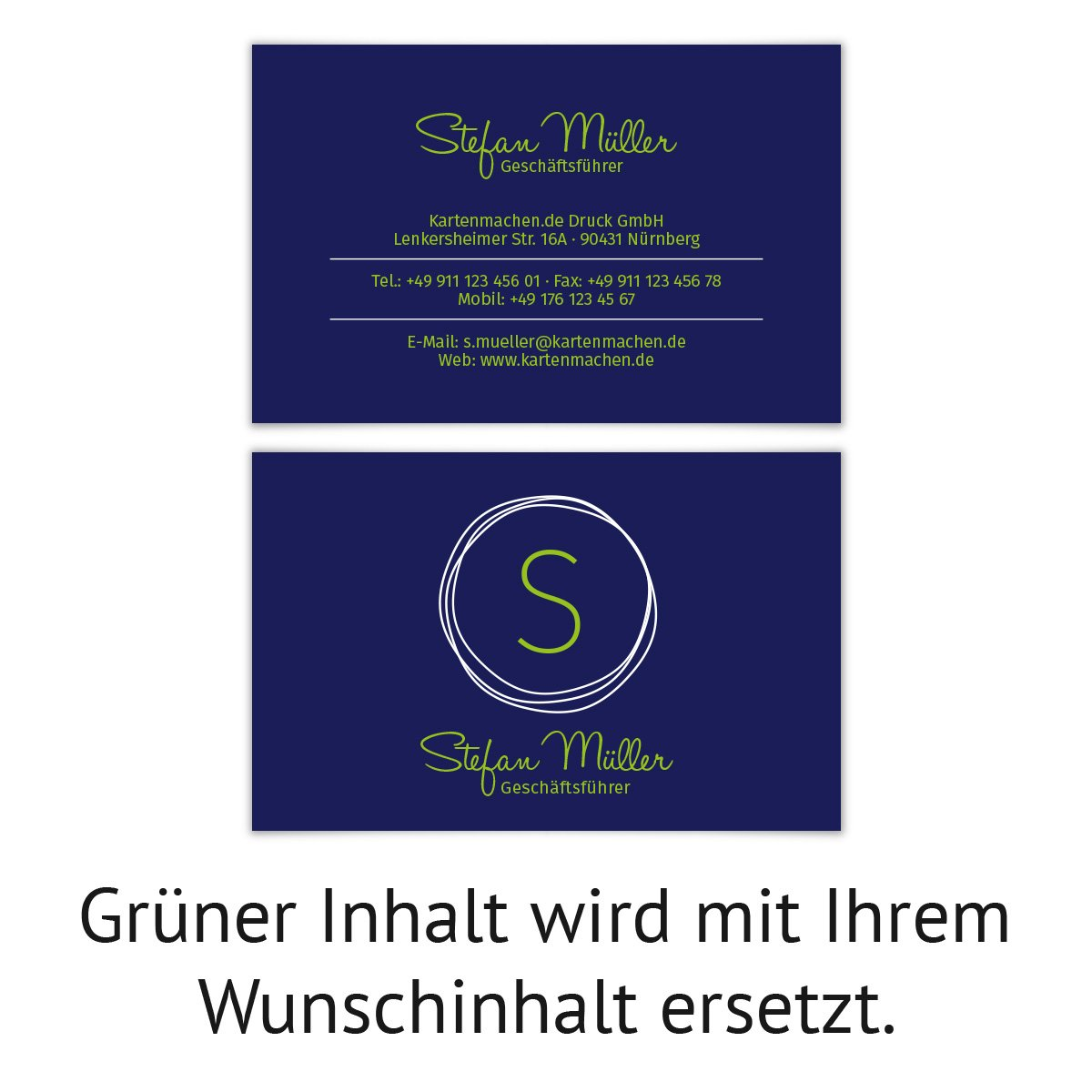 500 x Visitenkarten individuell Business Karten 300g qm qm qm 85 x 55 mm - Kritzellogo B07CHJ591F | Exzellente Verarbeitung  | Große Klassifizierung  | Fein Verarbeitet  942854