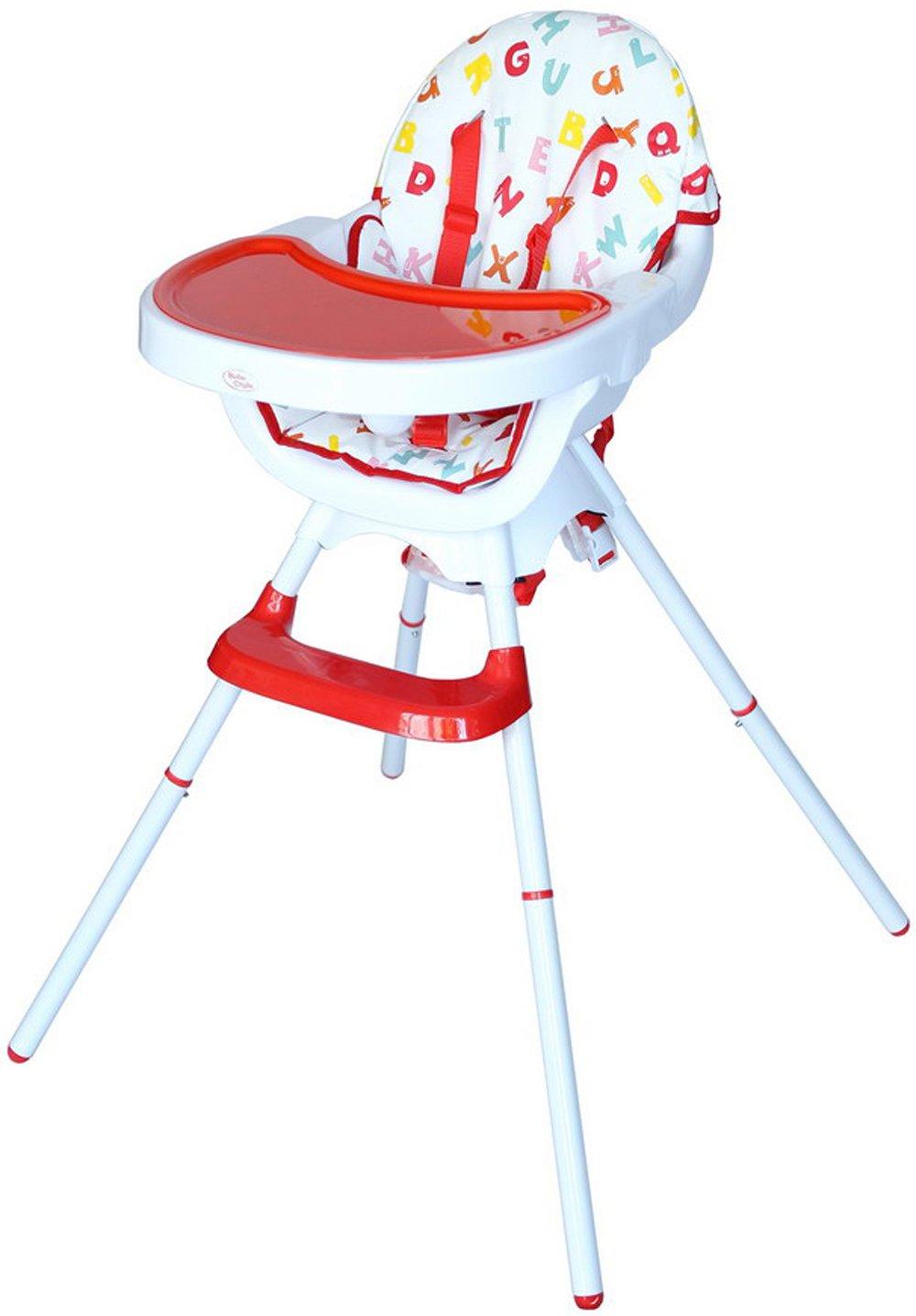 Bebe Style Siège Enfant Style Deluxe 3 en 1, Chaise Haute de Bébé, Chaise Enfant et Rehausseur FFH23R