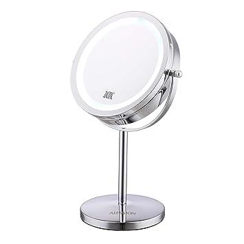 Amazoncom Lighted Makeup Mirror 7 Led Vanity Mirror 10x