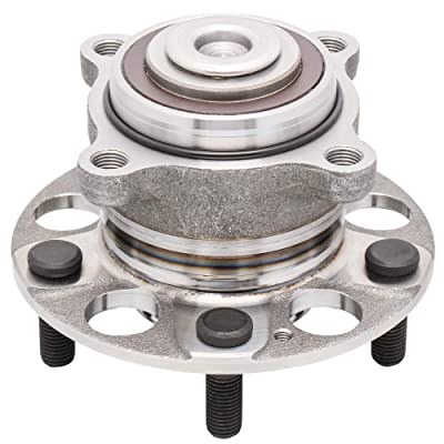 [1-Pack] 512353 - REAR Wheel Hub and Bearing Assembly for 2009-2014 Acura TSX, 2008-2012 Honda Accord, 5 Lugs Wheel Hub: Automotive