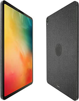 """2018 Skinomi Brushed Steel Skin+Clear Screen Protector For Apple iPad Pro 11/"""""""