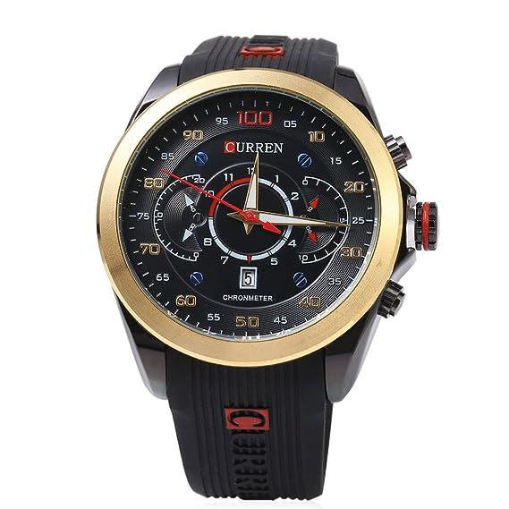 relojes militares MONEDA marca de lujo de los hombres de moda casual reloj de cuarzo reloj