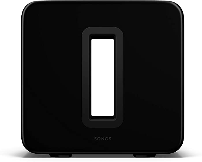 Sonos Sub (Gen 3) - The Wireless Subwoofer For Deep Bass - Black