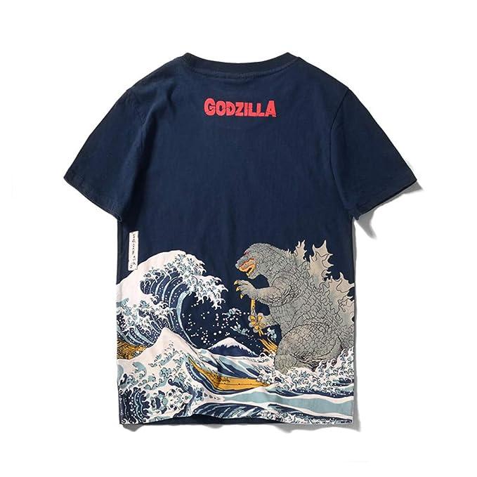 Amazon.com: Showhole Godzilla - Camiseta de manga larga para ...