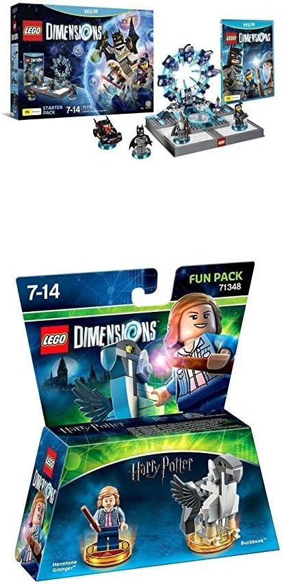LEGO - Starter Pack Dimensions (Wii U) + Harry Potter - Hermione (Fun Pack): Amazon.es: Videojuegos