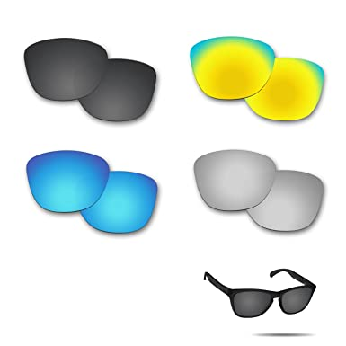 db0a8421f3 Image Unavailable. Image not available for. Color  Fiskr Anti-saltwater  Replacement Lenses for Oakley Frogskins Sunglasses ...