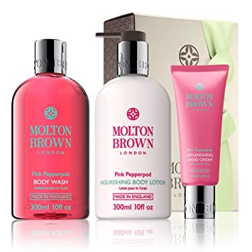 e3c5a67c2ed4 Molton Brown Pink Pepperpod Pamper Gift Set  Amazon.co.uk  Beauty
