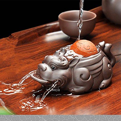 Zisha Tea Pet mascot Tea Tray Furnishing Articles Tea Water Play Brave Troops