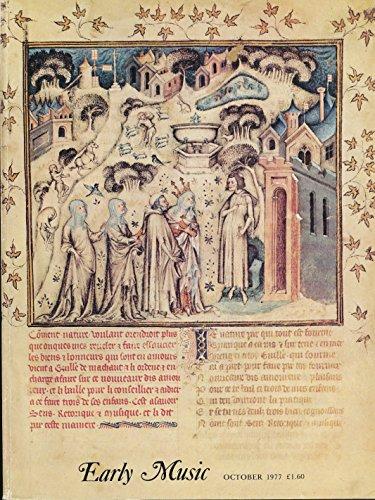 Early Music : Musical Manuscripts of Guillaume de Machaut; 'Musica Ficta' in Machaut; Machaut's 'Pupil