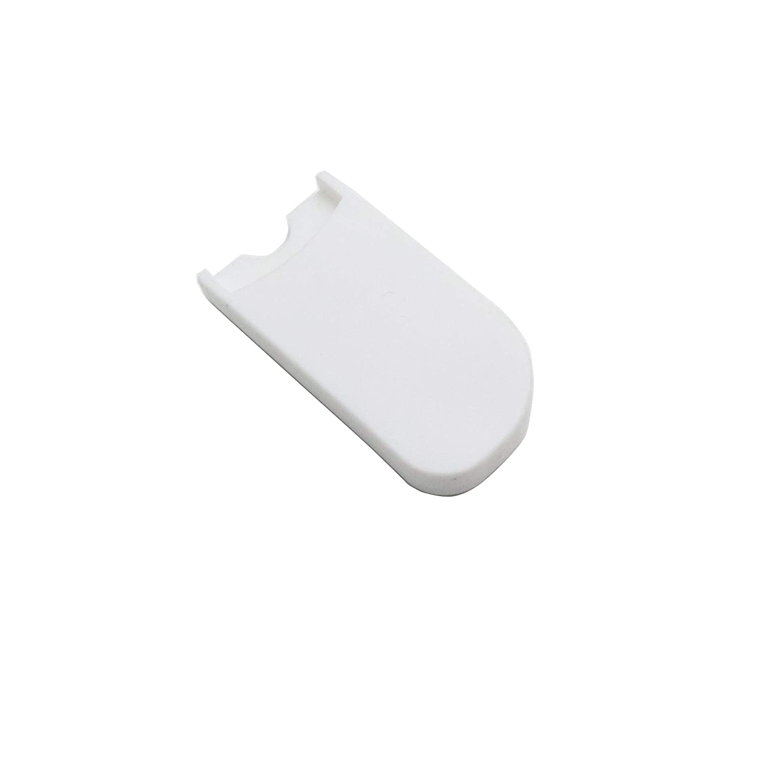 White Timiy 1 Set Saxophone Palm Key Risers and Thumb Rest Cushions for Sax Wind Instruments