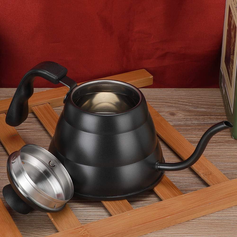 Edelstahl 1L 304 Edelstahl Kaffeekanne Handkaffeekanne Handpunschtopf Kaffeekanne