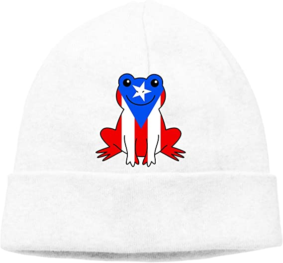 Winter Warm Knit Hat Florida Flag Baseball in My DNA Beanie Skull Cap for Women and Men