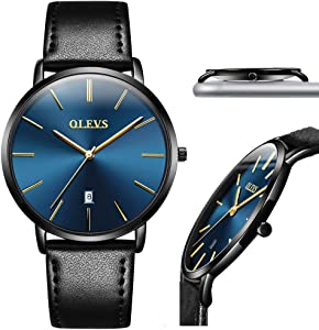 Giveaway: Ultra Thin Watches for Men's Luxury Fashion Simple Minimalist...