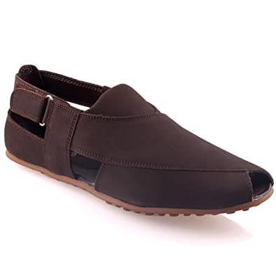 8a6974c060d8 Unze Mens Leather Redro Stylish Summer Traditional Sandals  Amazon.co.uk   Shoes   Bags