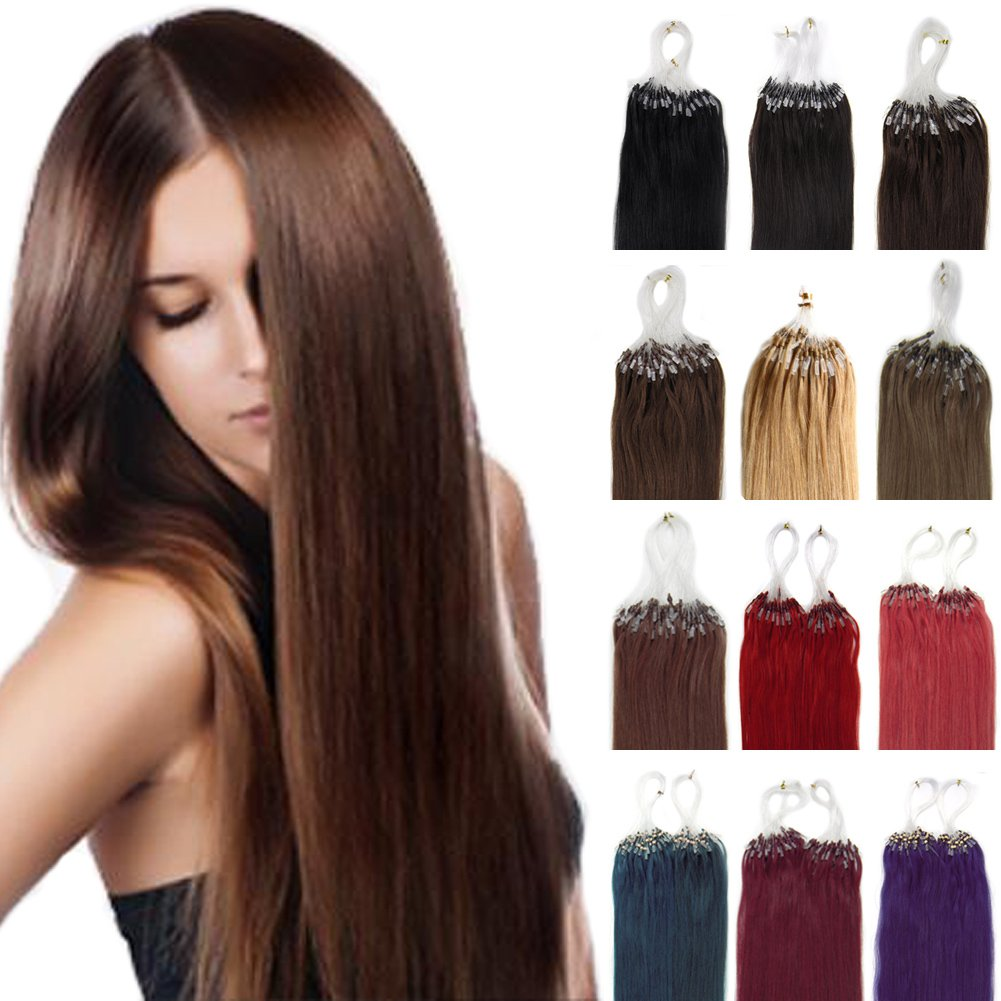 Yotty Human Hair Color Rings Color Chart 43 Colors Samples For Hair