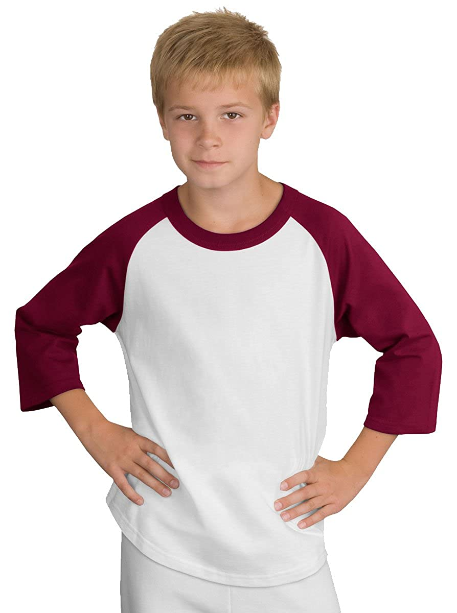 Sport-Tek Youth Colorblock Raglan Jersey YT200