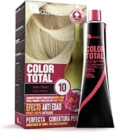 Azalea Total Tinte Capilar Permanente, Color Platino - 224 gr