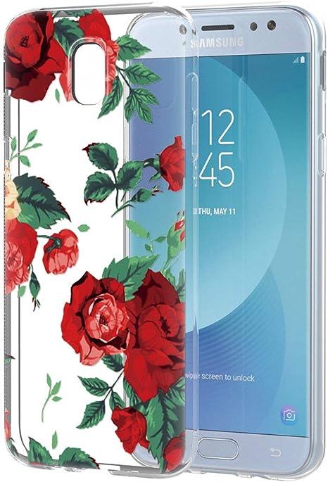 cover samsung j5 con fiori