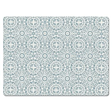 Hadley Table William Blue and White Hard Placemats SET OF 4