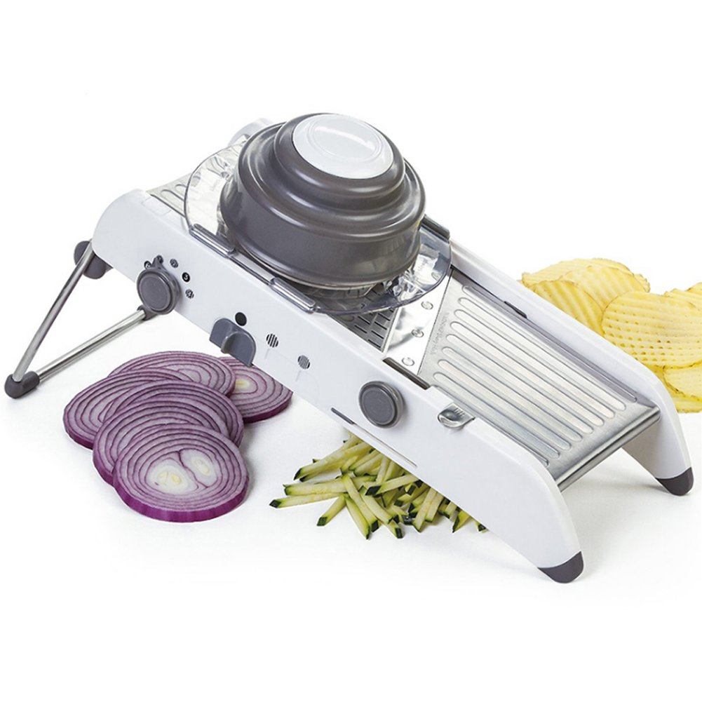 Taloyer Stainless Steel Multi-functional Chopper Cut Vegetable Potato Food Scissor Tools by Taloyer (Image #5)