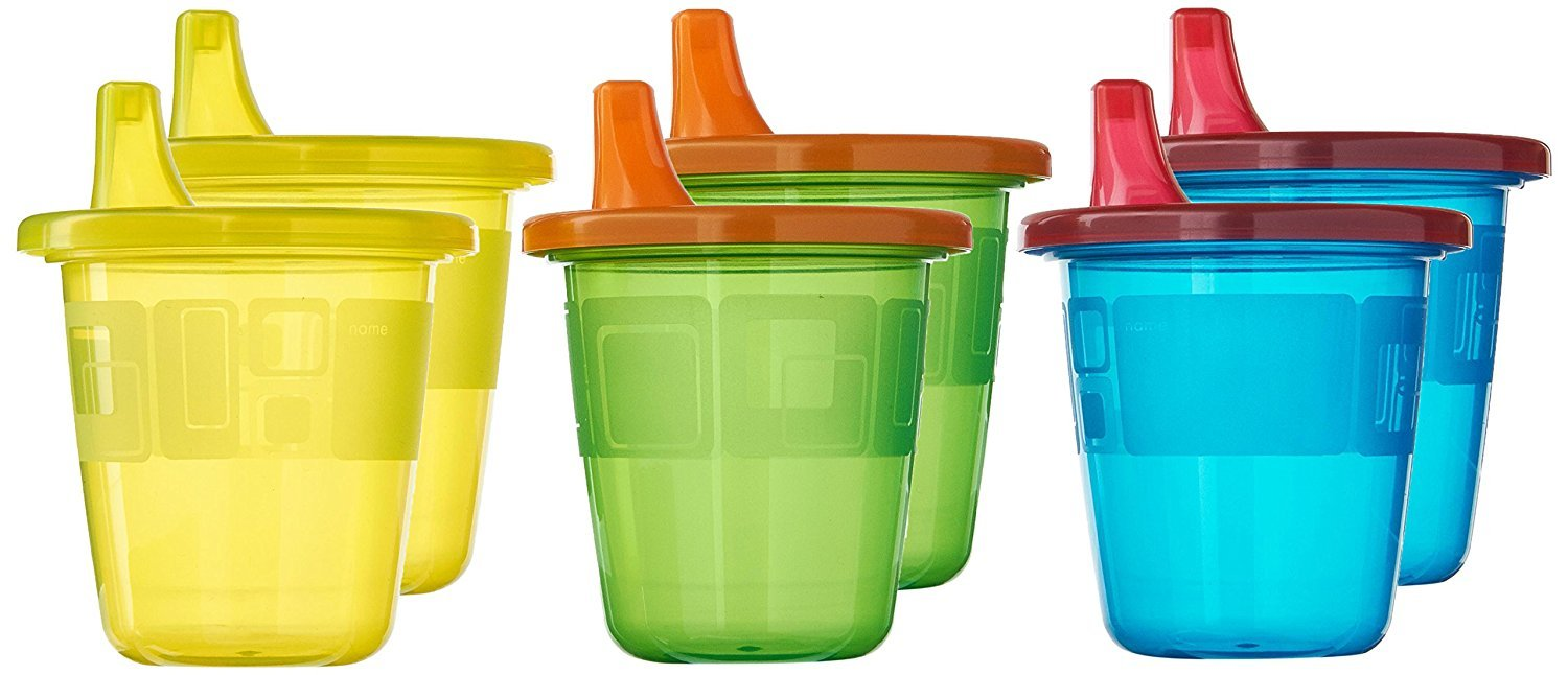 HuSuper Toss Spill-Proof 7 Ounce Cups