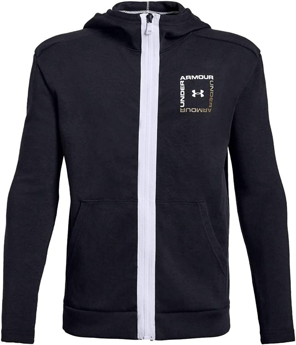 Under Armour boys Unstoppable Double Knit Full Zip