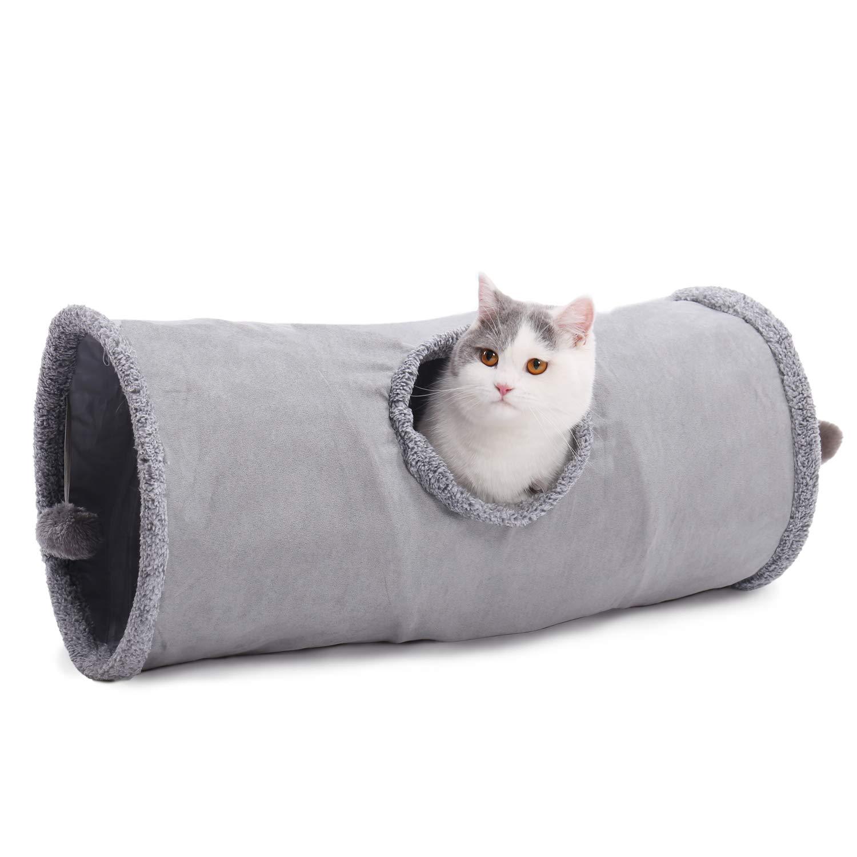 Amazon.com: Túnel plegable para gatos Speedy Pet de 12 ...