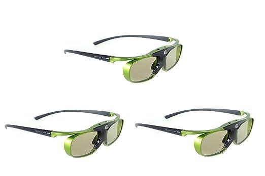 "55 opinioni per 3x DLP PRO 5G ""Lime Heaven""- 2014 NextGen DLP Link occhiali 3D- luce, brillante"