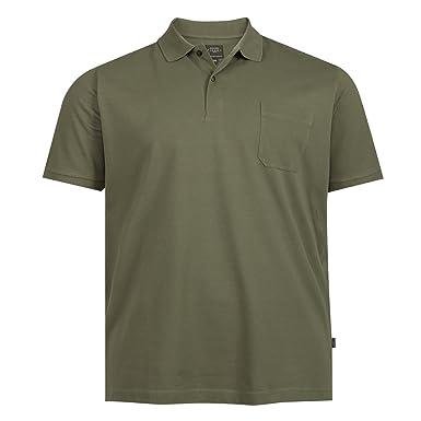 Herren Tops, T Shirts & Hemden Kitaro Übergröße Poloshirt