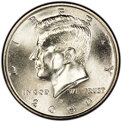 2000 D Kennedy Half Dollar CN-Clad Choice BU US Coin