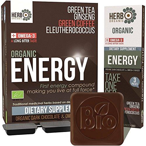 ORGANIC Dark Chocolate Energy Supplement product image