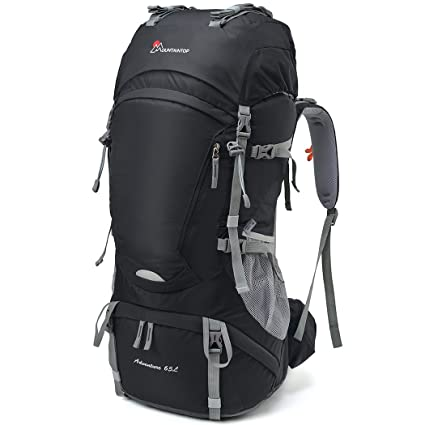 Mountaintop 65L Outdoor Hiking Backpack Camping Backpack Internal Frame Bag 0878e4484e5d2