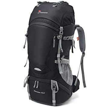 Amazon.com : Mountaintop 65L Outdoor Hiking Backpack Camping ...