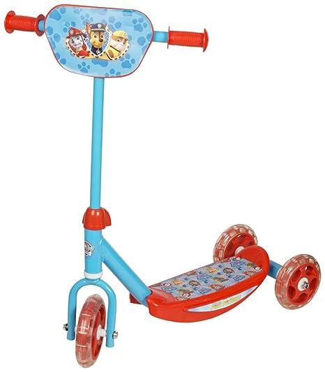 Scooters de 3 ruedas Kids Scooters para niños / niños de 3 años más (patrulla