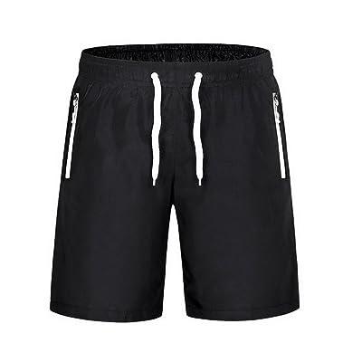 Jixin4you Outdoor Sports Leisure Drawstring Beach Quick Dry Shorts