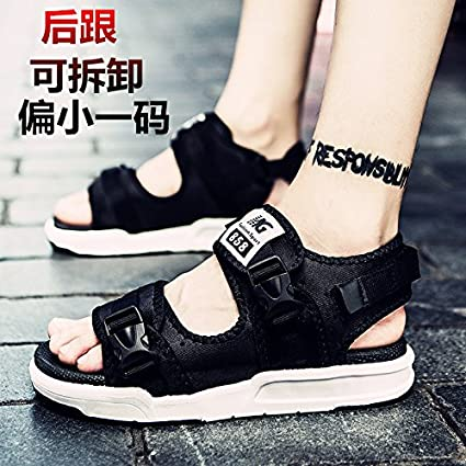 995b03ae46a35 Amazon.com: xing lin Leather Sandals The New Summer Men'S Sandals ...