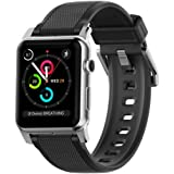 Nomad 42mm Silicone Strap for Apple Watch - Vulcanized Hypoallergenic LSR - Stainless Steel Hardware
