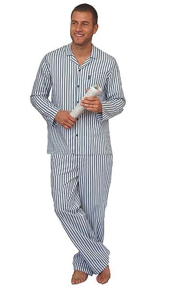 Jockey hombre de Estados Unidos Originals algodón largo pijama conjunto con libre Boxer corto azul Marino