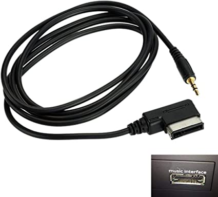 Car Audio Cable AMI MDI MMI 3.5 mm AUX Interface Adapter for Audi VW