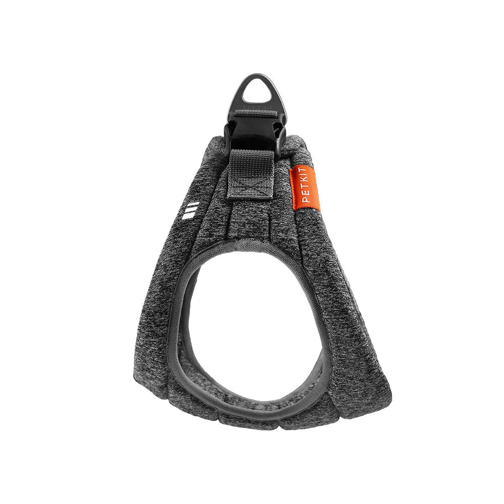 L ZZQ Dog Harness with Buffer Handle Adjustable Pet Vest Chest Strap Outdoor Training Walking for Medium Large Breed Big Dogs