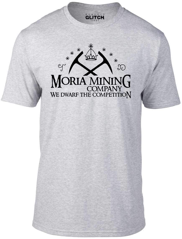 Bullshirt Moria Mining Company T Shirt 1204