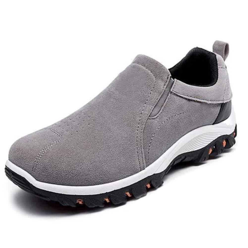 Amarillo 1 par de Zapatos de Senderismo para Hombre para Escalada al Aire Libre Impermeables 39 Apoorry Antideslizantes Transpirables